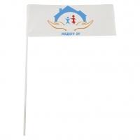 Флажки на заказ с любым логотипом и надписью