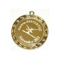 Медаль с индивидуальной гравировкой